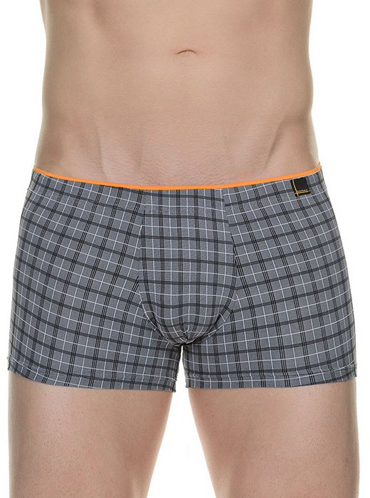 Трусы Bruno Banani (Бруно Банани) Railing, Short Gray р.7 ( XL ) муж.