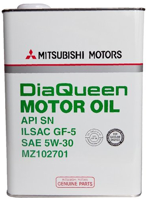 Масло моторное Mitsubishi DiaQueen SN/GF-5 5W30, 4л