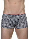 Трусы Bruno Banani (Бруно Банани) Monogram, Short Black-white р.7 ( XL ) муж.