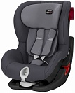 Автокресло детское Britax Romer King II Black Series Storm Grey Trendline