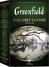 Чай черный Greenfield Earl Grey Fantasy листовой, 200 гр.