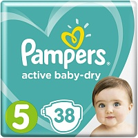 Подгузники Pampers (Памперсы) Active Baby-Dry Junior 5 (11-16 кг) 36 шт.