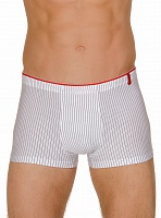 Трусы Bruno Banani (Бруно Банани) Straight Line, Short White-black р.6 ( L ) муж.