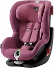 Автокресло детское Britax Romer King II LS Black Series Wine Rose Trendline