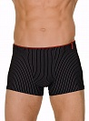 Трусы Bruno Banani (Бруно Банани) Straight Line, Short Black-white р.6 ( L ) муж.