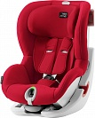 Автокресло детское Britax Romer King II LS Fire Red Trendline