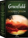 Чай черный Greenfield Golden Ceylon листовой, 200 гр.