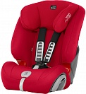 Автокресло детское Britax Romer Evolva 1-2-3 Plus Fire Red Trendline