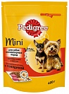 Корм для собак Pedigree Mini пород с Говядиной, 600 гр.