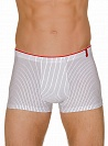 Трусы Bruno Banani (Бруно Банани) Straight Line, Short White-black р.5 ( M ) муж.