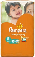 Подгузники Pampers (Памперсы) Sleep Play Junior 5 (11-18 кг), 11 шт