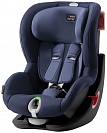 Автокресло детское Britax Romer King II LS Black Series Moonlight Blue Trendline