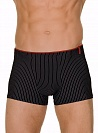 Трусы Bruno Banani (Бруно Банани) Straight Line, Short Black-white р.4 ( S ) муж.